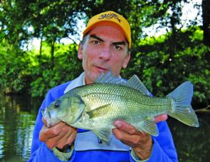 When it comes to bass fishing the author prefers the high-grade Sunline castaway.