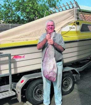 Who says there are no big snapper in Geelong after October?