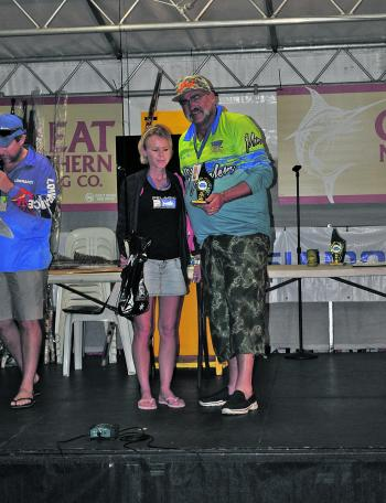 Katie Watsford won the Female Angler division.
