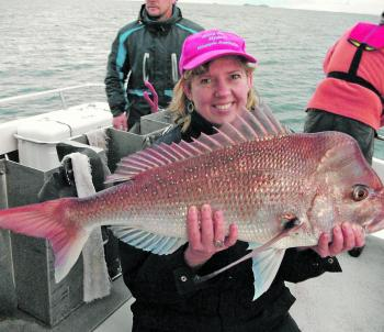 Snapper have even turned up around North Solitary Island with the mackerel and kingfish.