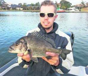 Big bream and sneakily fished lures are a match made in heaven – or the Patterson Lakes at least!