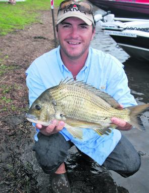 Although bream don't always come easily at this time of year, bigger fish are always a chance.