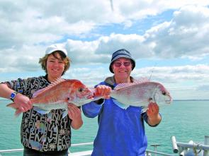 Quality snapper are to be expected in November.