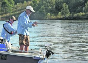The Scrub Boys targeted schooling flats fish to secure their victory at Keepit Dam.