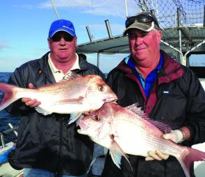 There are still some quality snapper to be caught offshore. Pic courtesy of Evans Head Deep Sea Charters