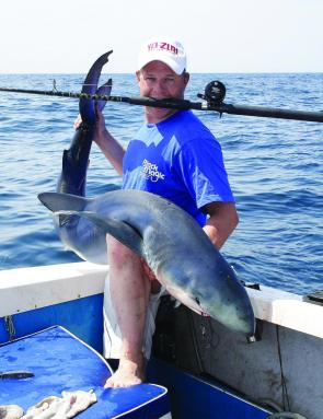 To catch an awesome shark like this, you'll need to ensure your 'livie' is rigged correctly for a solid hook-up.
