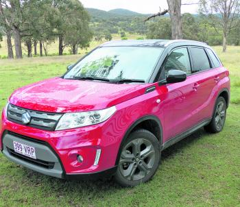 Funky, modern, styling complements the many features that bring the Vitara to the forefront of today's small SUV market.