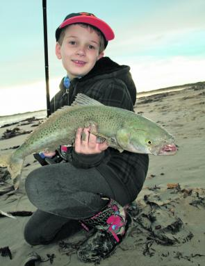 Killarney beach has been producing plenty of salmon on spin gear.