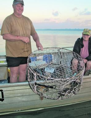Local legend JB loves his crabbing and when it's as good as it is in Burrum Heads, why wouldn't you?