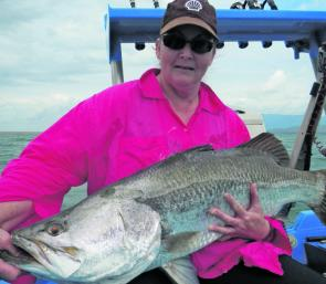 The barra are slowing down, but persistent fishing should pay off.