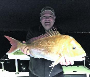 Anthony Brown with a solid pre-dawn red.