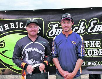 Dan Mackrell and Steve Parker moved 19 places up the leader board on Day Two to finish in fourth.