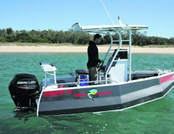 The Armour 45 is a solid, tough as nails fishing vessel.