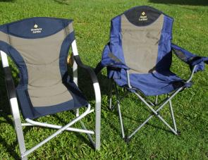 Two special chairs: the Director's Jumbo and the Regal Lumbar. Both offer very high degrees of comfort.