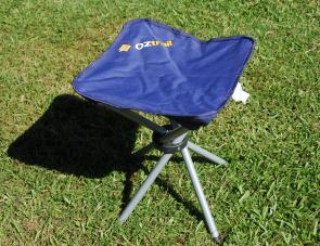 The smart little Quad stool – ideal for the motorcycle tourer or for keeping in the car for quick use.