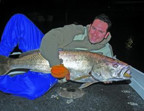 Targeting jewfish on soft plastics will be pick of the fishing for October.