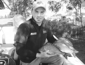 The Port River BREAM qualifier was won by Shaun Ossitt, who was the only angler to catch his full limit.