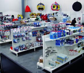 The extensive boating accessories department is run by Mark Lewis, with over 20 years boating experience.