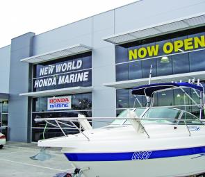 New World Honda has opened Melbourne's biggest indoor marine dealership in Lyndhurst, in the southeastern suburbs around 25km from the centre of Melbourne.