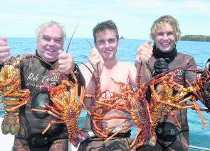 Good crayfish are still about through winter months although females are now protected.