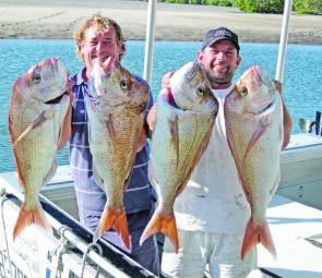 There have been some quality snapper caught recently that should continue through the month.