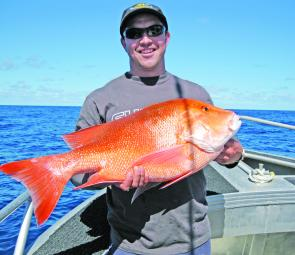 Decent reds are being caught about 4 miles offshore.