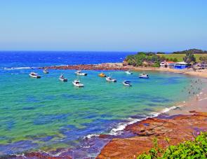 The sheltered waters of the Terrigal Haven provide safe and easy access to the sea. It's also possible to catch squid, bream, blackfish, tailor and frigate mackerel from the rocks towards the point.