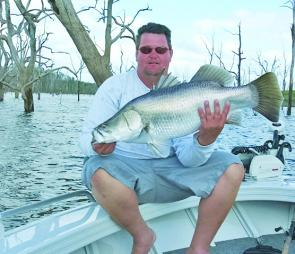 Ben from Bonshaw was chuffed with this Monduran barra.