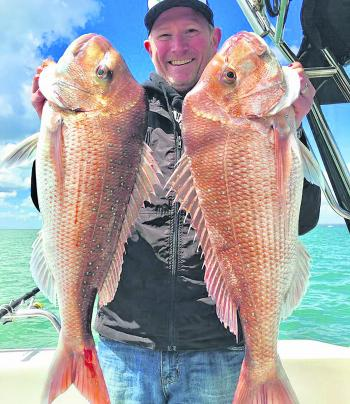 There are some big snapper to be caught in the Port if you're willing to escape the crowds and fish in the shallows