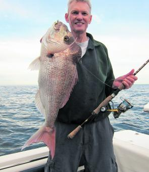 Martin recently nailed this quality snapper just outside the bay on a soft plastic.