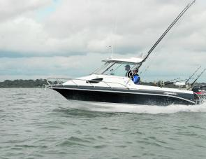 With almost half of the craft devoted to fishing room the Haines Signature 650F offers a lot for the dedicated off shore angler.