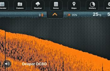Water depth can change dramatically over a short distance. Deeper keeps you fishing the right areas.