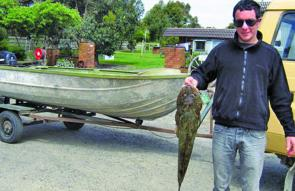 This flathead was caught by a Fish Creek angler and weighed in at 4.6kg