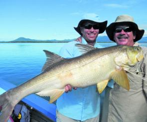 There have been some huge threadfin around in the estuaries, making for some fantastic fishing.