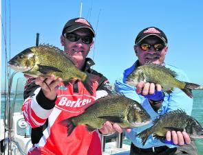 After two consistent days on the water, Brad and Mike Hodges of Team Berkley took out Round 1 of the 2014 Vic Bream Classic Series held at Docklands in Melbourne.