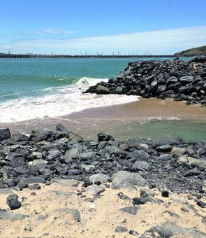 Coffs Harbour boat ramp entrance back in mid-summer. Fail, fail and fail, Coffs Harbour Council.