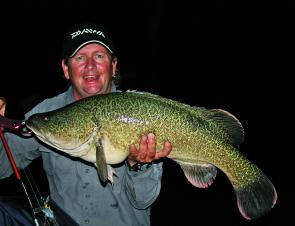 Surface luring at night anyone? Give this a go, but make sure you've got the OK from your doctor first and you're not prone to panic attacks! Addictive fishing at its very best.