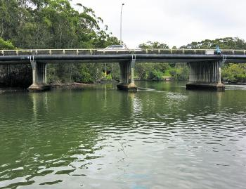 This bridge near the Maritime Museum is a fantastic fishing hole.