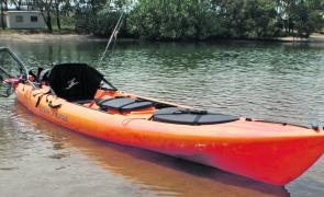 Ocean Kayak put a lot of thought into the design and features of the Prowler Torque.