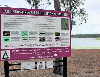 Signage like this will fill you in on local regulations, available species and other relevant information.