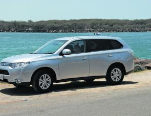New styling is a distinctive feature of this year's ZG Outlander.