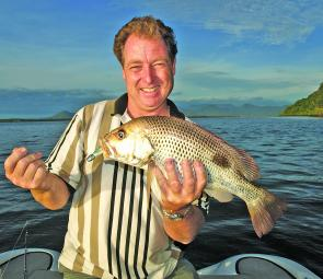 The aggressive nature of golden snapper means even new-comers to the species can be successful throwing lures at them.