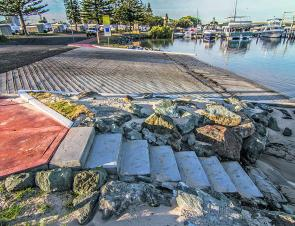 The new Forster Harbour boat ramp is welcome improvement for the area. Now if we can only stop the children swimming in there during busy school holidays!