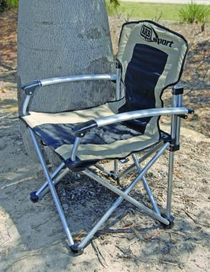 The ARB Sport chair combines good looks with a lot of strength with a load rating of 120kg.