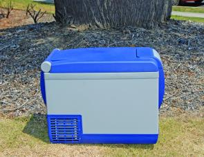 The portable ARB camping fridge/freezer is ideal for a long or short camping trip.