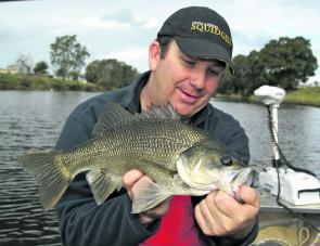 Bass are in great shape in the Macleay River, thanks to minimal angling pressure and being a recreational-only species.
