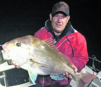 Scott Harper has been repeatedly catching quality snapper from the Corinella area.
