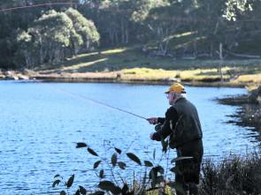 Fishing monthly magazines wily trout outwit anglers on for Lake bryan fishing