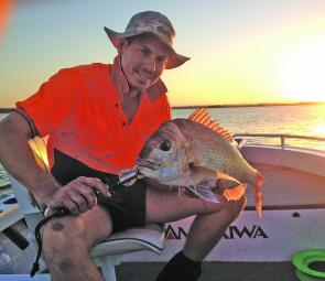 This little snapper was on a small reef just off Moreton Island.