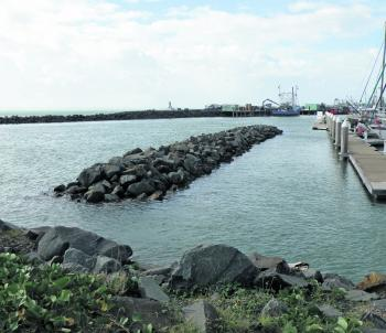 The walls, jetty and marina pylons at the Urangan Boat harbour are great spots to check out during the next few months as bream feed ravenously prior to spawning.